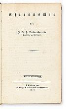 BOHNENBERGER, JOHANN GOTTLIEB FRIEDRICH. Astronomie.  1811