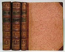 BRISSON, MATHIEU-JACQUES. Dictionnaire Raisonné de Physique. 4 vols. in 3. 1781
