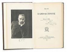 CURIE, MARIE. Traité de Radioactivité. 2 vols. 1910