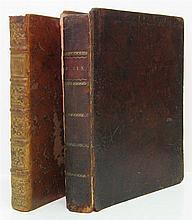 COUSIN, JACQUES-ANTOINE-JOSEPH. Introduction à l'Étude de l'Astronomie Physique. 1787 + Traité de Calcul Différentiel. 1796