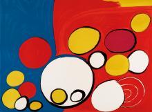ALEXANDER CALDER Composition with Circles.