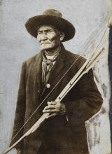 (NATIVE AMERICAN) Geronimo.