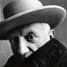 PENN, IRVING (1917-2009) Pablo Picasso, Cannes.