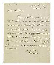 DECATUR, STEPHEN. Autograph Letter Signed,