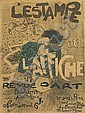 PIERRE BONNARD (1867-1947). L' ESTAMPE ET L'AFFICHE. 1897. 32x23 inches, 81x60 cm. Editions d'Art, Paris.