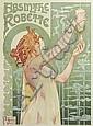 PRIVAT LIVEMONT (1861-1936). ABSINTHE ROBETTE. 1896. 43x32 inches, 109x81 cm. J.L. Goffart, Brussels.