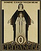PIETER ADRIANUS HENDRIK HOFMAN (1885-1965). L'ETRANGER. Circa 1920. 42x29 inches, 108x73 cm. Lankhout, The Hague.