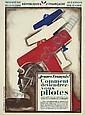 ROGER DE VALERIO (1896-1951) JEUNES FRANCAIS! COMMENT DEVIENDREZ-VOUS PILOTES. 1927.