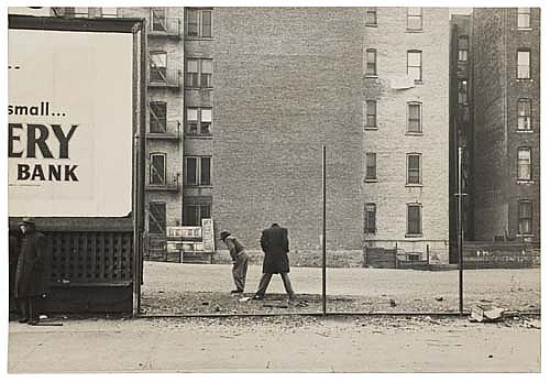 DE CARAVA, ROY (1919- ) Untitled (New York City).