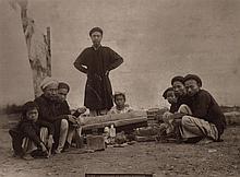 HOCQUARD, CHARLES EDOUARD (1855-1911) Group of 17 mounted photographs entitled