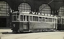 (VERNACULAR TROLLEYS) Group of 3 albums containing more than 400 photographs of trains and trolleys in