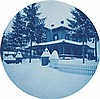 (NEW ENGLAND) A lovely album with 44 rich, crisp cyanotypes of Vermont, New Hampshire, and the Connecticut River,