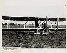 MAYFIELD, WILLIAM PRESTON (1896-1974) Group of 25 photographs depicting pilots and various Wright Bros. flying machines,
