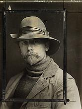 (CURTIS, EDWARD S.) (1868-1952) Self-portrait.