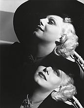 HURRELL, GEORGE (1904-1992) Jean Harlow (double-exposure).