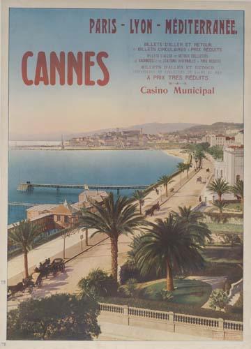 CANNES.  Circa 1910.