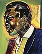 FREDERICK BROWN (1945 -   ) John Coltrane., Frederick Brown, Click for value