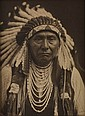 CURTIS, EDWARD S. (1868-1952) Chief Joseph.