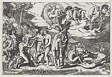 MARCANTONIO RAIMONDI (after Raphael) The Judgment of Paris