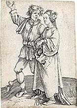 ALBRECHT DÜRER The Peasant and his Wife.