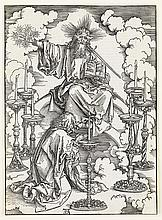 ALBRECHT DÜRER The Vision of the Seven Candlesticks.