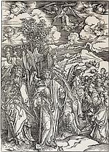 ALBRECHT DÜRER The Four Angels Holding the Winds.