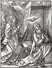 ALBRECHT DÜRER The Annunciation.