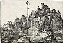 ALBRECHT DÜRER St. Anthony Reading.