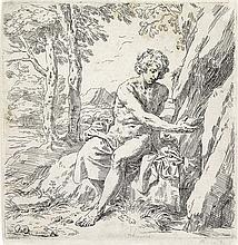 SIMONE CANTARINI St. John the Baptist in the Wilderness.