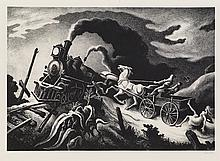 THOMAS HART BENTON Wreck of the Ol' 97.