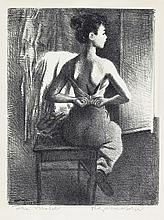 RAPHAEL SOYER Young Model.