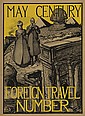 GEO. HAWLEY HALLOWELL (1871-1926). MAY CENTURY / FOREIGN TRAVEL NUMBER. 1896. 19x14 inches, 49x35 cm.