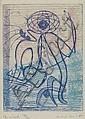 MAX ERNST Le Sonneur/Carte de l'Océan.