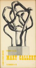DESIGNER UNKNOWN. MARY CALLERY / M. KNOEDLER & CO. 1957. 26x14 inches, 66x36 cm.