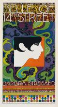 TIM LEWIS (DATES UNKNOWN). BELLE OF 14TH STREET / BARBRA STREISAND. Group of three posters. 1967. Sizes vary.