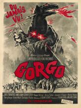 DESIGNER UNKNOWN. GORGO. 1961. 31x23 inches, 79x59 cm.