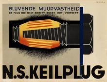 JEAN WALTHER (1910-1968). N.S. KEILPLUG. 1932. 23x30 inches, 58x77 cm.