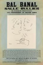 PABLO PICASSO (1881-1973). BAL BANAL. 1924. 49x37 inches, 124x82 cm. Bernouard, Paris.