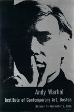 D'APRÈS ANDY WARHOL (1928-1987). ANDY WARHOL / INSTITUTE OF CONTEMPORARY ART, BOSTON. 1966. 33x21 inches, 85x55 cm.