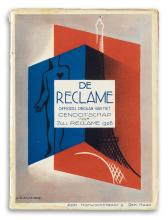 ADOLPHE MOURON CASSANDRE (1901-1968). [CATALGOUES AND BROCHURES.] Group of 16. 1920s-1930s. Sizes vary.