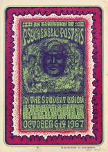 WES WILSON (1937- ). AN EXHIBITION OF PSYCHEDELIC POSTERS. 1967. 20x14 inches, 50x35 cm. Double-H Press, San Francisco.