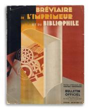 VARIOUS ARTISTS. BRÉVIAIRE DE L'IMPRIMEUR ET DU BIBLIOPHILE. 1931. 12x9 inches, 31x24 cm. Les Fils de Victor-Michel, Paris.