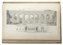 ARCHITECTURE.  ECOLE DES BEAUX ARTS. Projets d'architecture et autres productions de cet art, qui ont mérité les Grands Prix