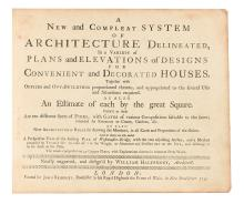 ARCHITECTURE.  HALFPENNY, WILLIAM. A New and Compleat System of Architecture Delineated,