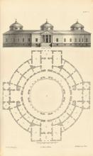 ARCHITECTURE.  JONES, INIGO. The Designs of Inigo Jones, consisting of Plans and Elevations for Publick and Private Buildings.