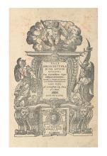 ARCHITECTURE.  RUSCONI, GIOVANNI ANTONIO; and VITRUVIUS POLLIO, MARCUS. Della Architettura . . . con centosessanta figure dissegnate .