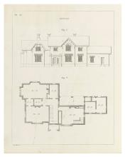 ARCHITECTURE.  SHAW, EDWARD. Rural Architecture: Consisting of Classic Dwellings, Doric, Ionic, Corinthian and Gothic . . . Designed fo