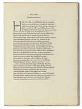 BREMER PRESS. Goethe, J. W. von. Hermann und Dorothea.