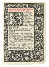 KELMSCOTT PRESS. Morris, William. The Defence of Guenevere.