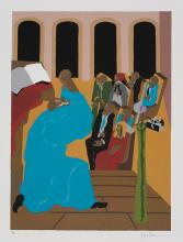 LIMITED EDITIONS CLUB. LAWRENCE, JACOB; illustrator. The First Book of Moses, Called Genesis. The King James Version.